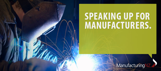 Speaking up for Manufacturers