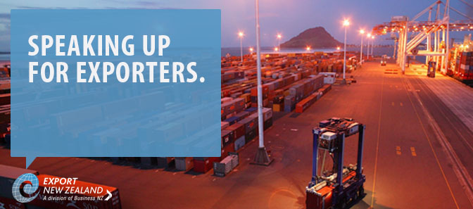 Speaking up for Exporters